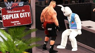 Suplex City - The Bunny Becomes the Latest Member (WWE 2K15 PC Mods)