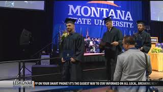 Yellowstone superintendent Wenk awarded honorary doctorate degree at MSU graduation