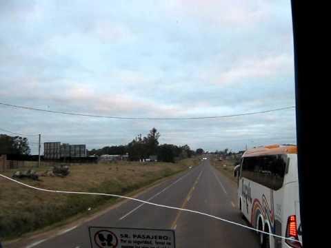 Ruta 5 Rivera en Turil rumbo a Montevideo VI