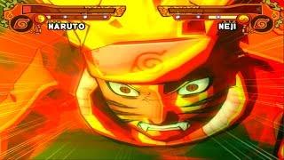 Naruto Shippuden Ultimate Ninja 5 GamePlay#67 PT-BR Naruto Clássico Vs Neji  PS2【Full HD 60 FPS】