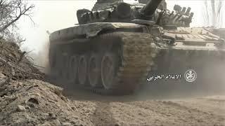 نزوح من الغوطة الشرقية مع تقدم القوات الحكومية