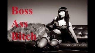 Nicki Minaj - Boss Ass Bitch (Lyrics Video Pt-Br) LEGENDADO