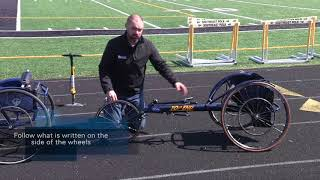 Racing Wheelchair Overview