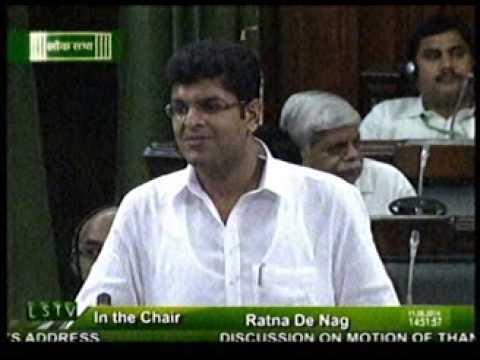 Dushyant Chautala Maiden Speech in Loksabha