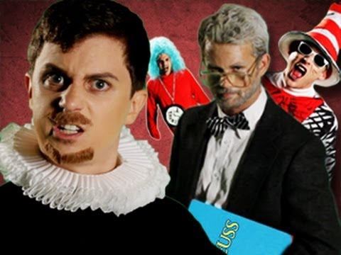 Dr Seuss VS Shakespeare. Epic Rap Battles of History 12
