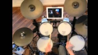 (گوگوش (هم صدا Googoosh Hamseda on Roland TD15-KV Drums