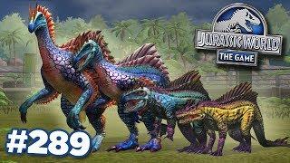 SEGNOSUCHUS UNLOCKED   STRONGEST DINOSAUR IN GAME!!!    Jurassic World - The Game - Ep289 HD