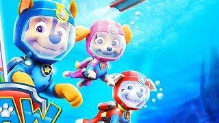 Paw Patrol Air & Sea Adventures / Sea Patrol / Cartoon Games Kids TV