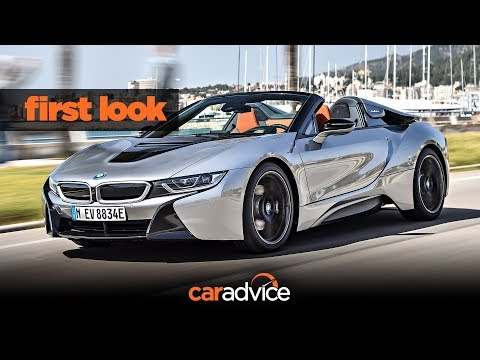 BMW i8 Roadster launch First look