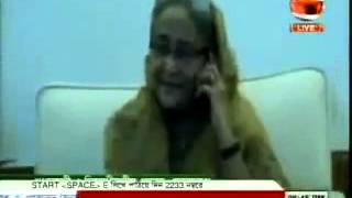 Sheik Hasina made a phone call to Begum Khaleda Zia