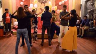 Kishanna's 21st birthday surprise dance