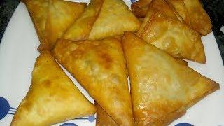 சமோசா செய்வது எப்படி/How To Make Potato Samosa/South Indian Snacks