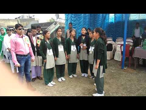 Muslim school are also respect the Indian national anthem see our example in the video