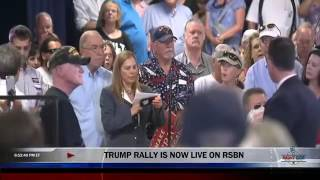 At Mike Pence Town Hall, Mother of Air Force Member Booed Over Khan Question
