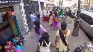 La Chapelle Paris Tamil Temple De Sri Manicka Vinayakar Alayam Kovil Theer 2015 Part 29