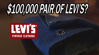 $100,000 Pair of Levi's Jeans?