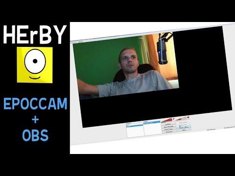 A mobil legyen a webcam a gameplay ben tutorial Epoccam OBS