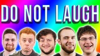 DO NOT LAUGH CHALLENGE!! - (Bikini Barney and the Legend of Matt Damon)