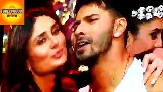 Kareena Kapoor Khan KISSES Varun Dhawan at TOIFA 2016 | Bollywood Asia