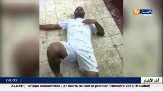 الدوري الجزائري .. مباراة كرة قدم تتحول الى حرب دموية بالاسلحة البيضاء