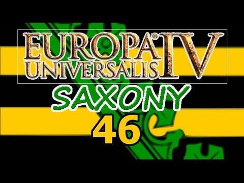 Europa Universalis 4 IV Saxony  Ironman Hard 46