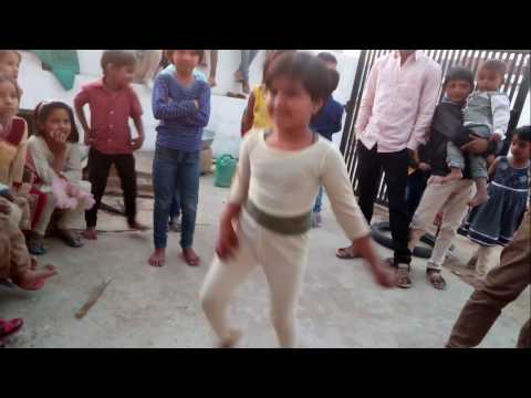 Entertainment show - girl dance on desi band..cute and funny style