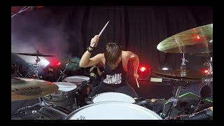 ROCK AM RING 2017 - 2CELLOS - You Shook Me All Night Long (Drum Angle)