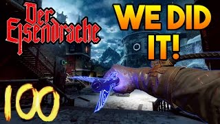 'DER EISENDRACHE' ROUND 100 BOSS FIGHT! [SUB FOR A SHOUTOUT] ~ Black Ops 3 Zombies LIVE!