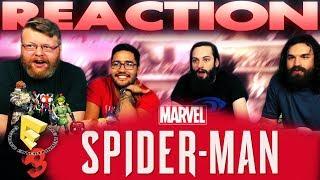 Marvel's Spider-Man (PS4) Gameplay Trailer REACTION!! E3 2017