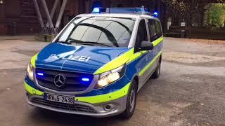 Der neue Kleinbus für die NRW-Polizei