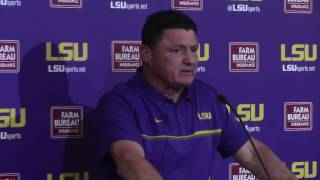 Ed Orgeron: Leonard Fournette 'is the best player in America'