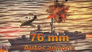 WT || Ships - 76 mm Autocannons feat. Asheville & Albatros