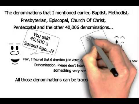 Catholic vs Protestants Methodist Baptist Explained