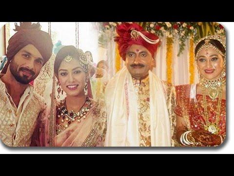 Biggest Bollywood Celebrities WEDDING Of 2015   Shahid-Mira, Arpita-Aayush