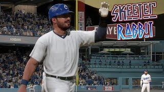 MLB The Show 18 Skeeter Rabbit Road To The Show (CF) Chicago Cubs vs Dodgers MLB 18 RTTS