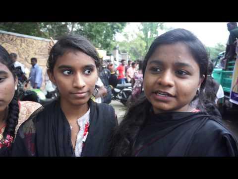 Kovai school girls tamil lovely speech 21.01.2017