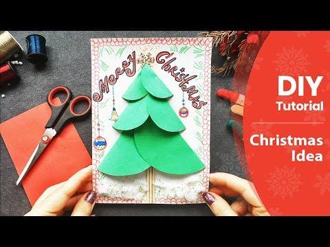 Xxx Mp4 DIY 3 D Kertas Pohon Natal Kerajinan Mudah Untuk Anakanak Membuat Kartu Ucapan 3gp Sex