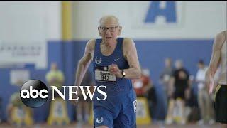 Centenarians break world records at track meet