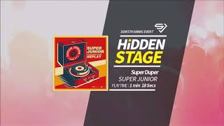 [Superstar SMTown - HIDDEN STAGE] Super Junior - Super Duper (3 stars)