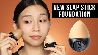 NEW Lush Slap Stick Foundation - Is it good? Tina Tries It