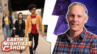 Secrets from Marvel's Runaways Season 2 w/ Quinton Peeples | Earth's Mightiest Show