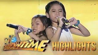 It's Showtime MiniMe Season 2: Toni and Alex Gonzaga