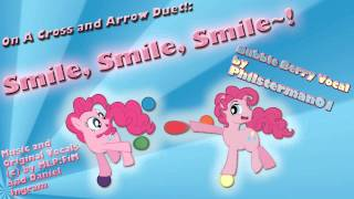 On A Cross and Arrow Duet!: Smile, Smile, Smile~!