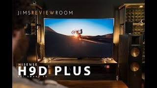 My new 4k 65inch at the studio!!  Check it out - Hisense 65H9 PLUS