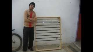 PSC Student's Research Project Recycled Plastic bottle solar water heater