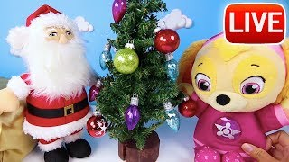 Christmas Gifts, Toys & Games Live 🎅 Play Doh Surprise Eggs, Paw Patrol & More | Ellie Sparkles