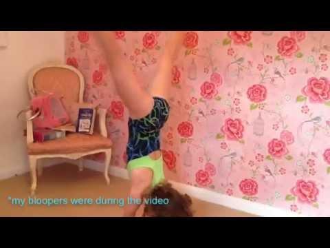 Amazing 8 year old gymnast