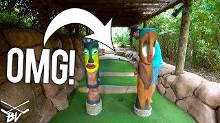 I CAN'T BELIEVE THIS MINI GOLF COURSE DID THIS!!