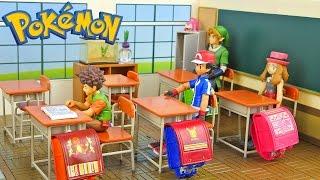 Studying at Pokemon School