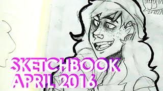 Sketchbook    April 2016   